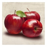 Apples Prints by Remo Barbieri