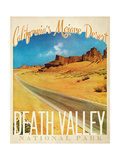 Vallée de la mort|Death Valley Reproduction procédé giclée
