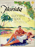 Clearwater Beach Giclee Print