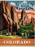 Garden of the Gods Giclee Print