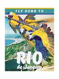 Rio de Janeiro Giclée-Druck