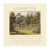 Arboretum, 1813 Art by Humphry Repton