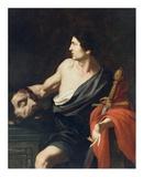 David with the Head of Goliath Kunst af (Francesco Mazzola) Parmigianino