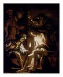 Christ Crowned with Thorns Kunstdrucke von Gerrit Van Honthorst