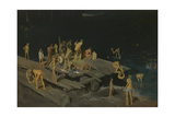 Forty-Two Kids, 1907 Giclée-tryk af George Wesley Bellows