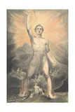 The Angel of Revelation, c.1805 Lámina giclée por William Blake