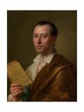 Johann Joachim Winckelmann (1717–68), c.1777 Giclee Print by Anton Raphael Mengs