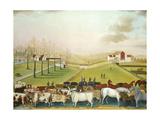 The Cornell Farm, 1848 Giclée-tryk af Edward Hicks