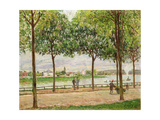 Les Promenade des Marronniers, St Cloud, 1878 Giclee Print by Alfred Sisley