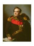 General Decaen, 1827 Giclée-Druck von Pierre Antoine Augustin Vafflard