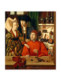 A Goldsmith in his Shop, 1449 ジクレープリント : ペトルス・クリストゥス
