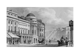 Harmonic Institution, Regent Street, from 'London and it's Environs in the Nineteenth Century' Giclee Print by Thomas Hosmer Shepherd