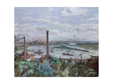 View of Kohlbrand, 1911 Gicléetryck av Lovis Corinth