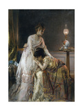 After the Ball, 1874 Giclee Print by Alfred Emile Stevens