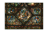 Window depicting St. Eustace Chasing a Deer Giclee Print