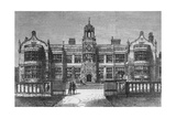 Ingestre Hall, Staffordshire, destroyed by Fire on Thursday, 12 October 1882 Reproduction procédé giclée par Frank Watkins