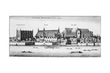 Part of the City of Westminster, 1647 Lámina giclée por Wenceslaus Hollar
