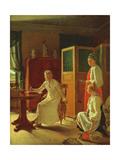 Morning of the Lady of the the Manor, 1823 Giclée-Druck von Aleksei Gavrilovich Venetsianov