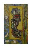 Japonaiserie: Courtesan or Oiran (after Kesai Eisen), Paris, 1887 Giclee Print by Vincent van Gogh