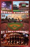 St. Louis Cardinals- Busch Stadium 2016 Pôsters