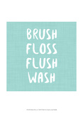 Brush, Floss etc Prints by Anna Hambly