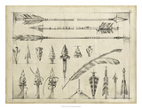 Arrow Schematic I Giclee Print by Ethan Harper