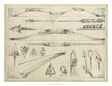 Arrow Schematic II Giclee Print by Ethan Harper