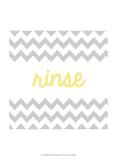 Rinse Prints by Anna Hambly