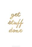 Golden Quote VII Láminas por Anna Hambly