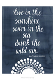 Sun Quote I Prints by Grace Popp