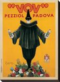 Vov, 1922 Pingotettu canvasvedos tekijänä Leonetto Cappiello