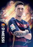 Barcelona Messi 15/16 Posters