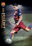 Barcelona Suarez Action 15/16 Pôsteres