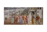 Tribute Money, 1425-27 Giclée-tryk af Masaccio,
