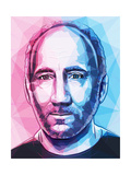 Pete Townshend Poster by Enrico Varrasso