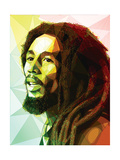 Bob Marley Poster von Enrico Varrasso