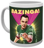 Big Bang Theory Sheldon Bazinga Mug Krus
