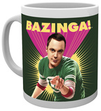 Big Bang Theory Sheldon Bazinga Mug Mug