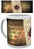 Harry Potter Marauders Map Mug Krus
