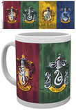 Harry Potter All Crests Mug Krus