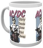 AC/DC Dirty Deeds Mug Krus