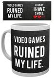 Gaming Ruined My Life Mug Taza