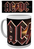 AC/DC Logo Mug Tazza