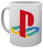 Playstation Logo Colour Mug Becher
