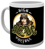 AC/DC High Voltage Mug Mug