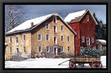 Winter's Day Framed Canvas Print by Dan Campanelli