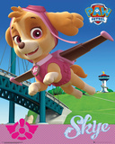 Paw Patrol- Skye In Flight Poster