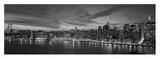 Manhattan Dusk (detail) Affischer av Richard Berenholtz