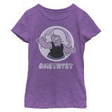 Young Girls: Steven Universe- Amethyst Smile T-shirts