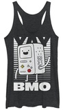 Juniors Tank Top: Adventure Time- Yay BMO Womens Tank Tops